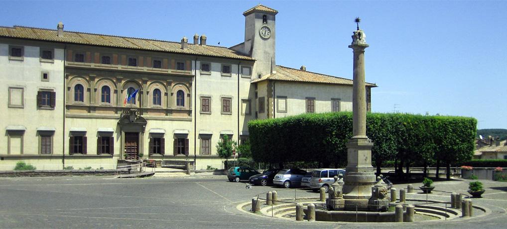 The Altieri Palace of Oriolo